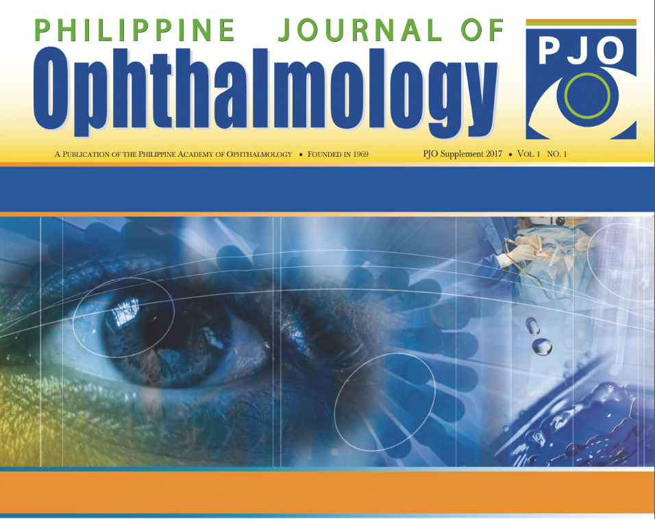 PJO Supplement: Clinical Practice Guidelines: Management of Cataract among Adults